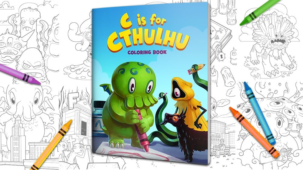 C Is for Cthulhu Coloring Book