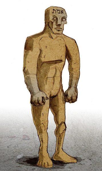 Golem, via Wikimedia: By Philippe Semeria (www.philippe-semeria.com) [CC BY 3.0 (http://creativecommons.org/licenses/by/3.0)], via Wikimedia Commons