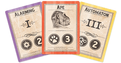 Great Scott! Cards, Image: Sinister Fish Games