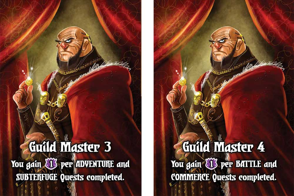 Quests of Valeria Guild Masters