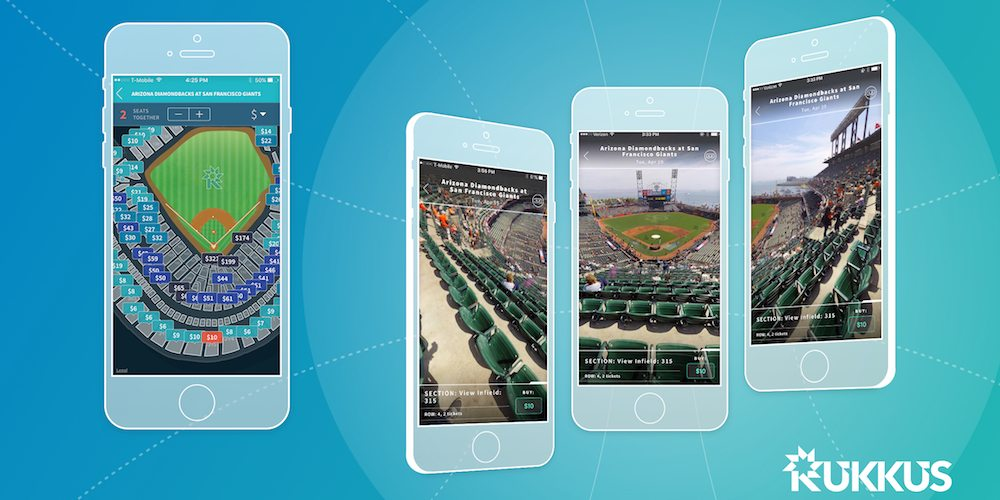 Rukkus App featuring Seat360 VR experience