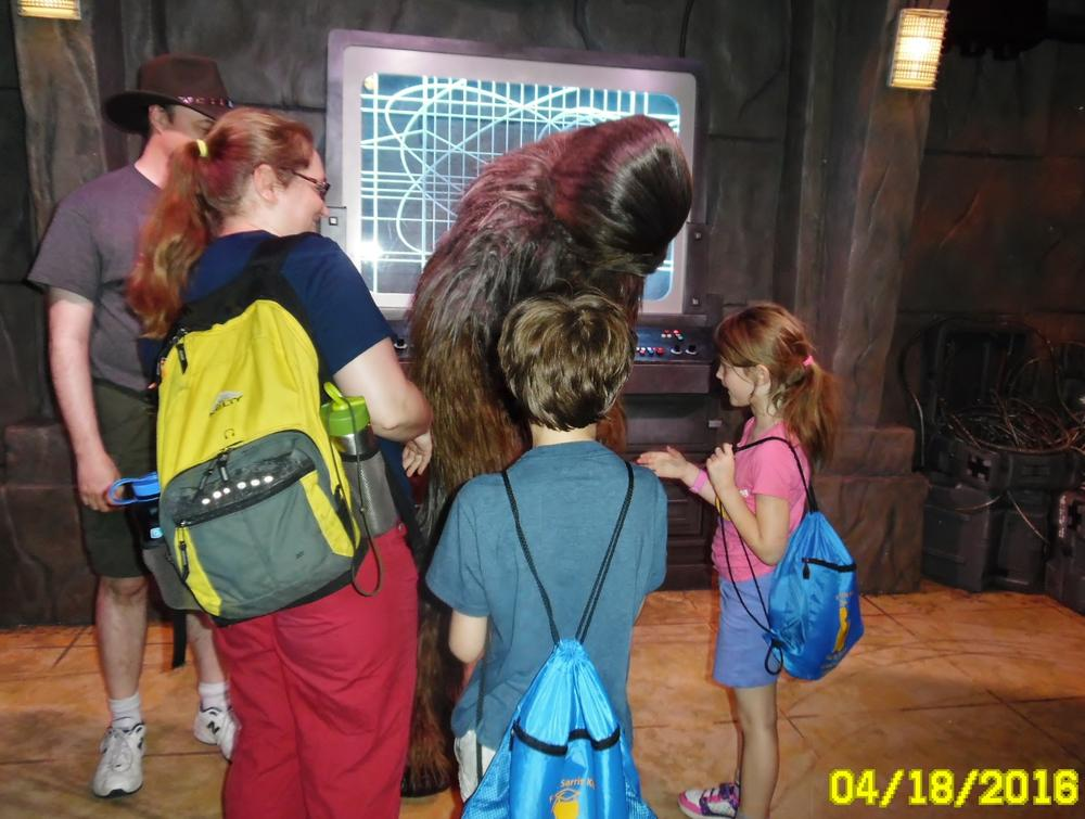 Meeting Chewy.