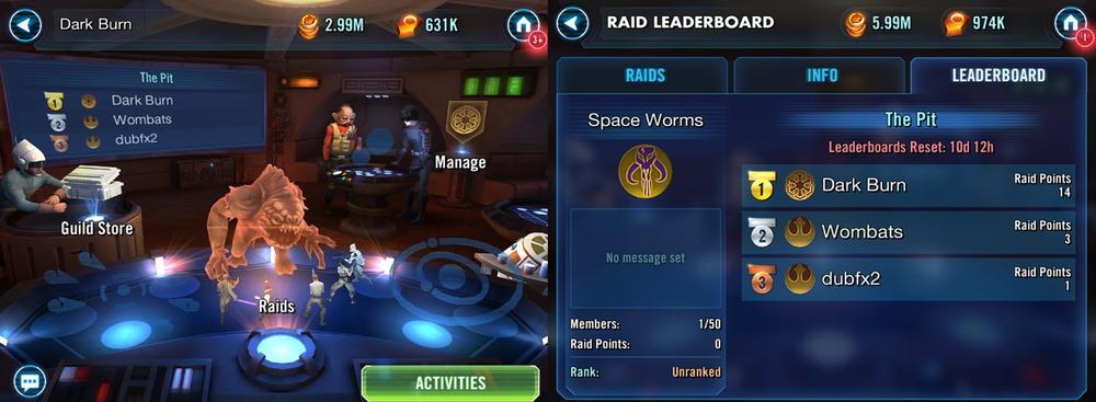 SWGoH-Raids