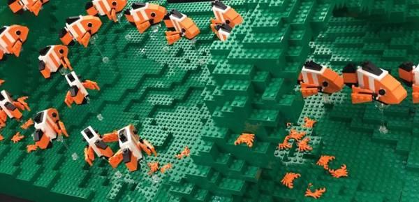 Lego Clown Fish