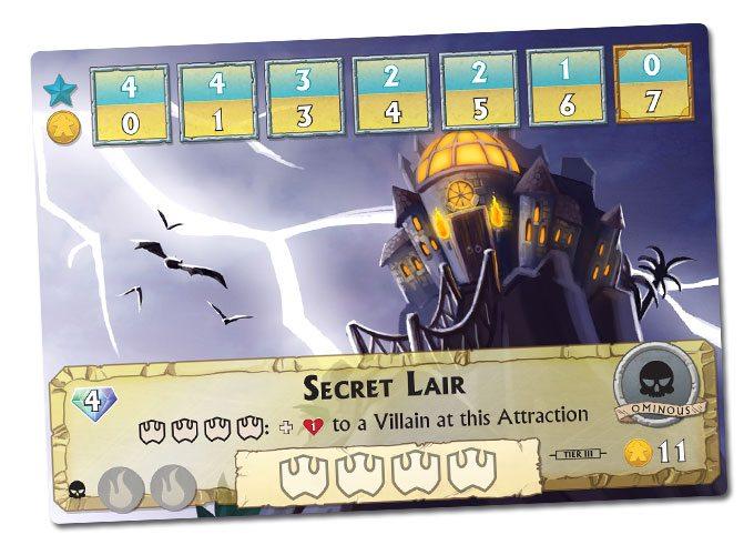 Villain's Vacation Secret Lair