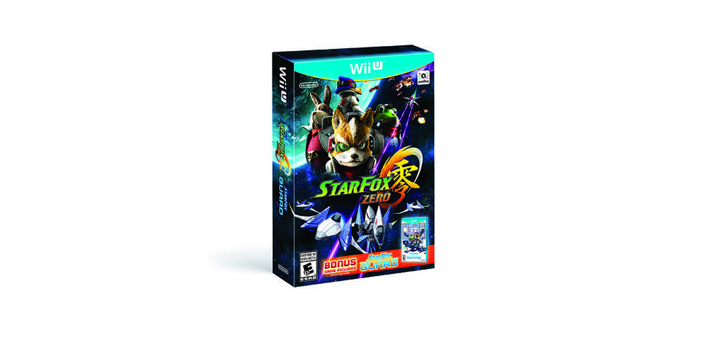 star fox zero box