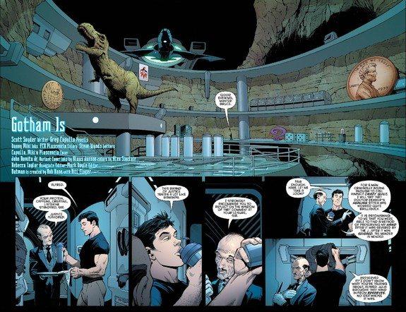 page from Batman #51, copyright DC Comics