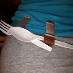 picnic utensil holder