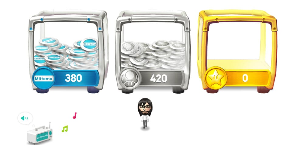 my nintendo coin types