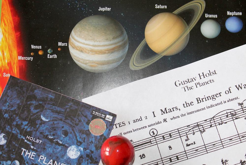 """The Planets"" by Gustav Holst weren't based on the, but that doesn't mean they can't inspire budding astronomers to look towards the skies."