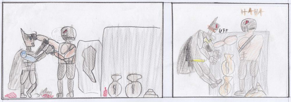 sketching_heros_and_villians