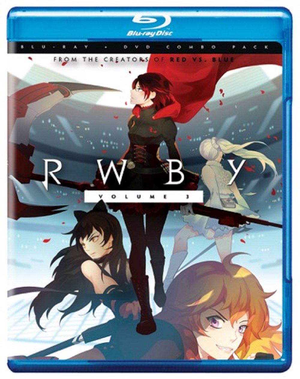 RWBY Volume 3 Blu-Ray Cover