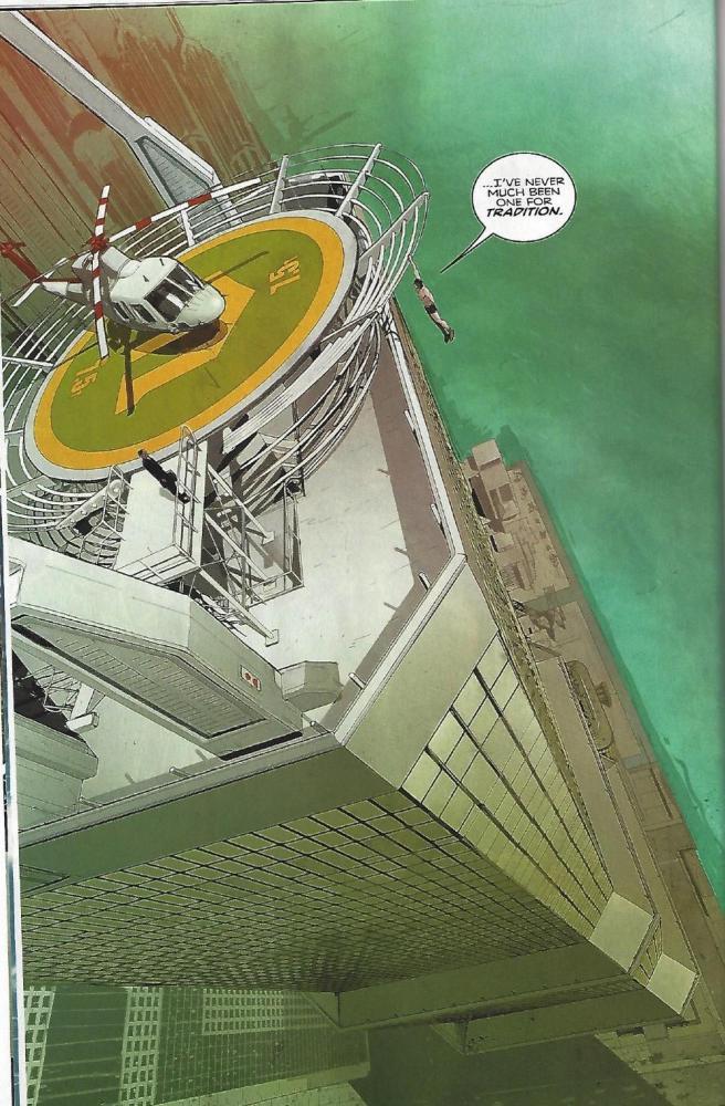Batman Rebirth #1, art by Mikel Janin, image copyright DC Comics