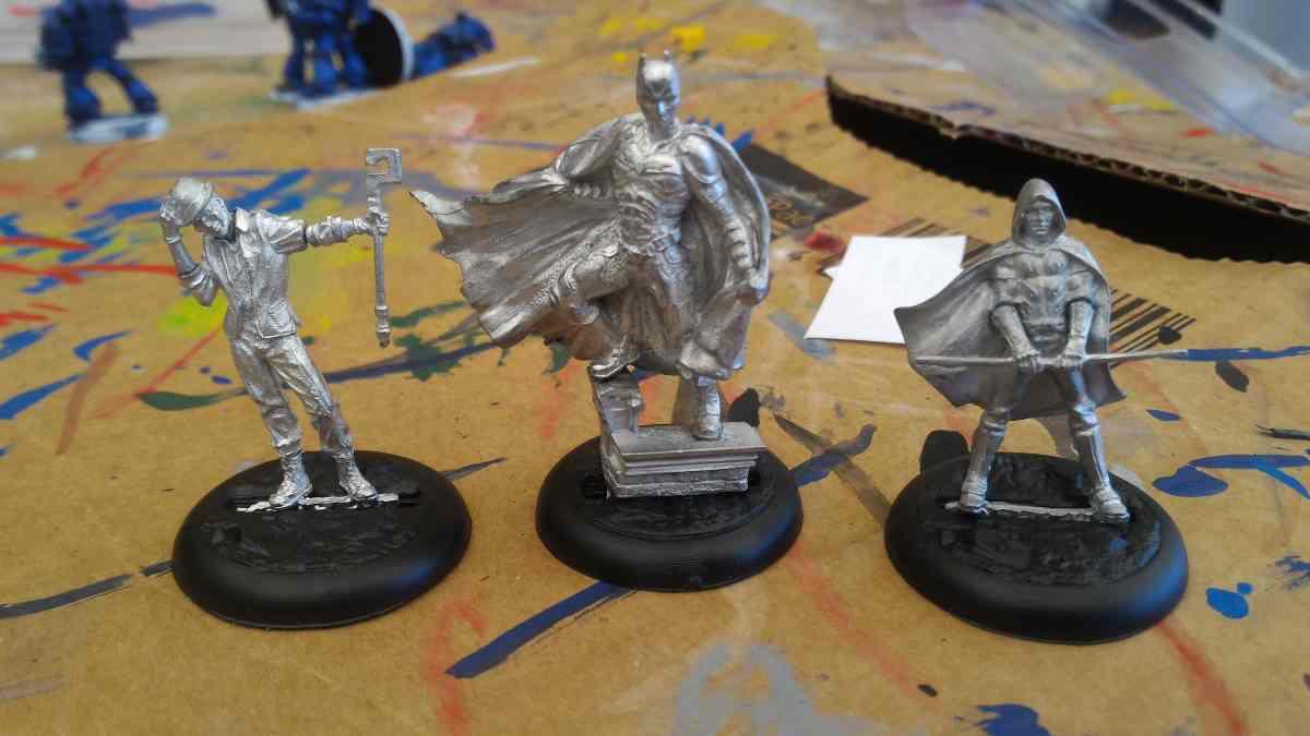 Knight Models unpainted