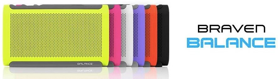 Braven Balance comes in multiple colors