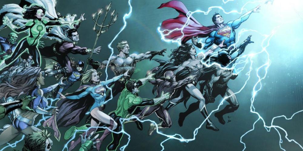 Rebirth #1 cover, image via DC Comics
