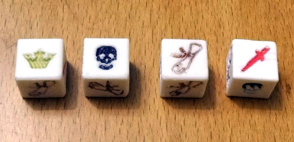 Dice of crowns dice