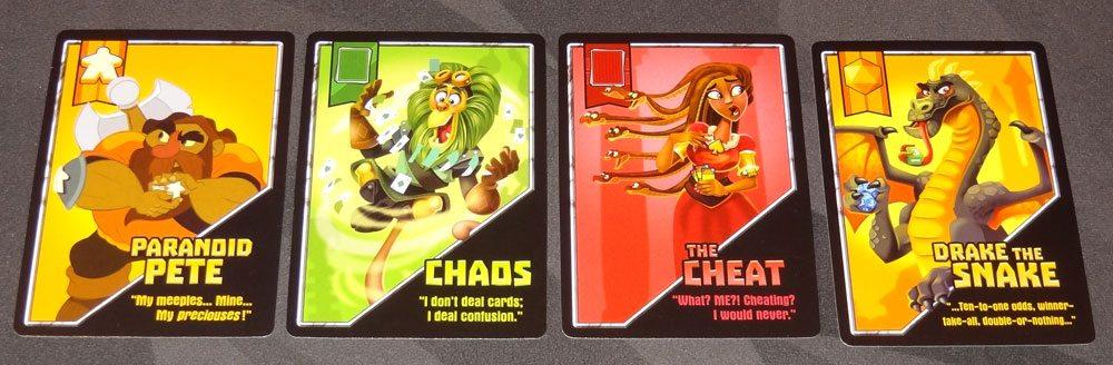 Heroes & Tricks Hero Cards