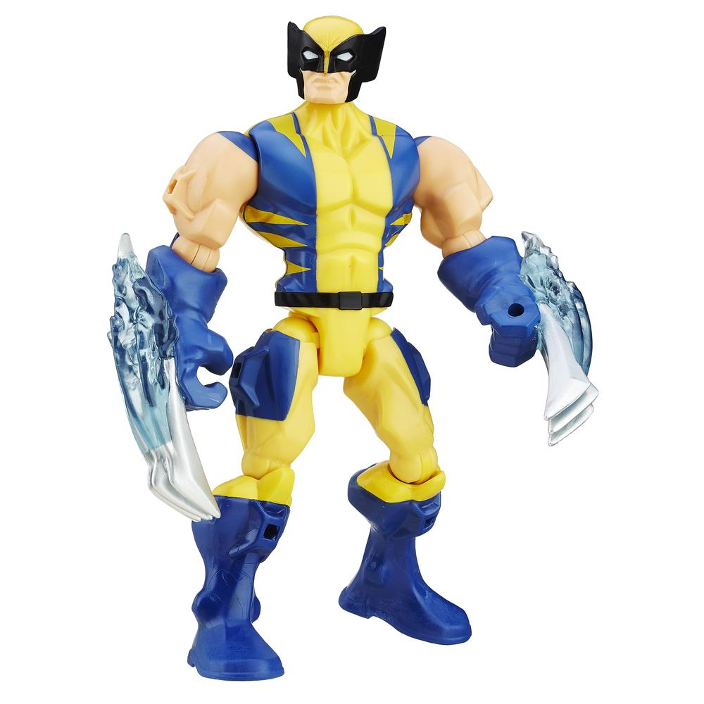 Except the Masher Action Wolverine. He had to go everywhere.