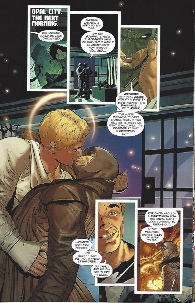 Midnighter and Apollo reunited. Image via DC Comics.