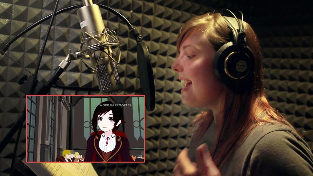 Lindsay Jones is the voice behind the character of Ruby.