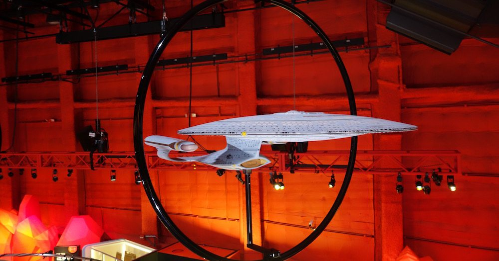 Star Trek 50th Anniversary Exhibit