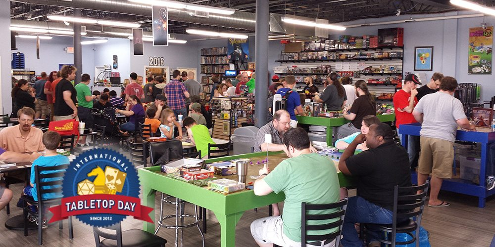 International Tabletop Day 2016 at Meeple Madness