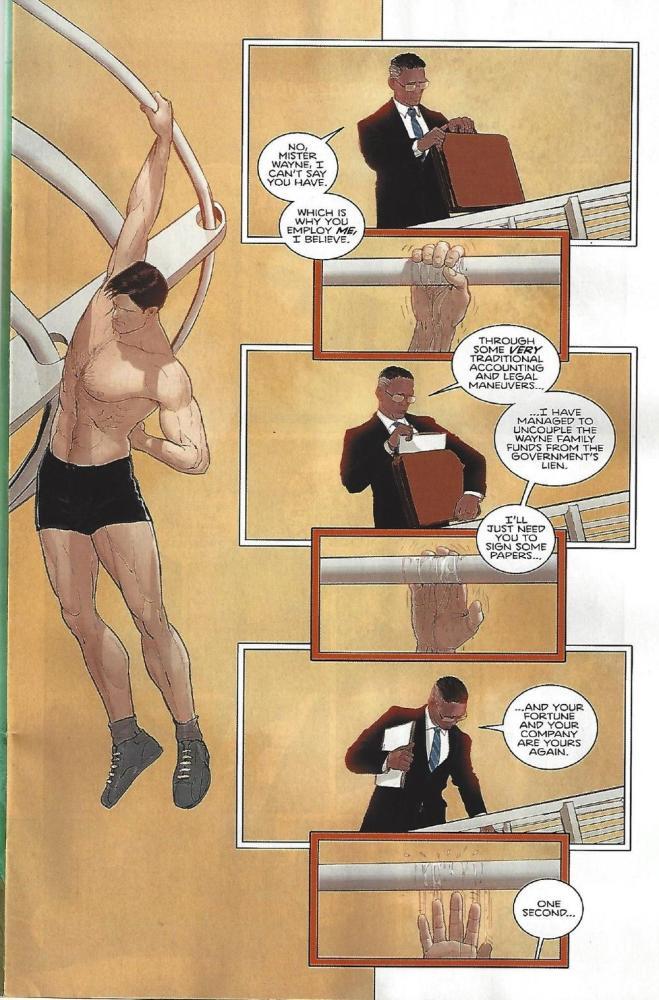 Part 2 of Batman Rebirth Splash page, art by Janin, copyright DC Comcis