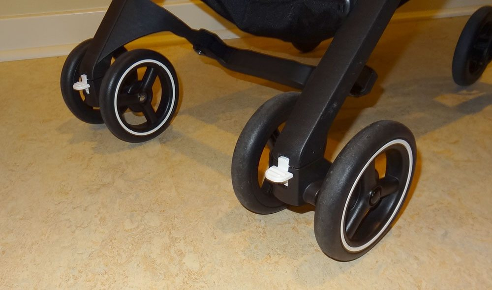 GB Pockit front wheels