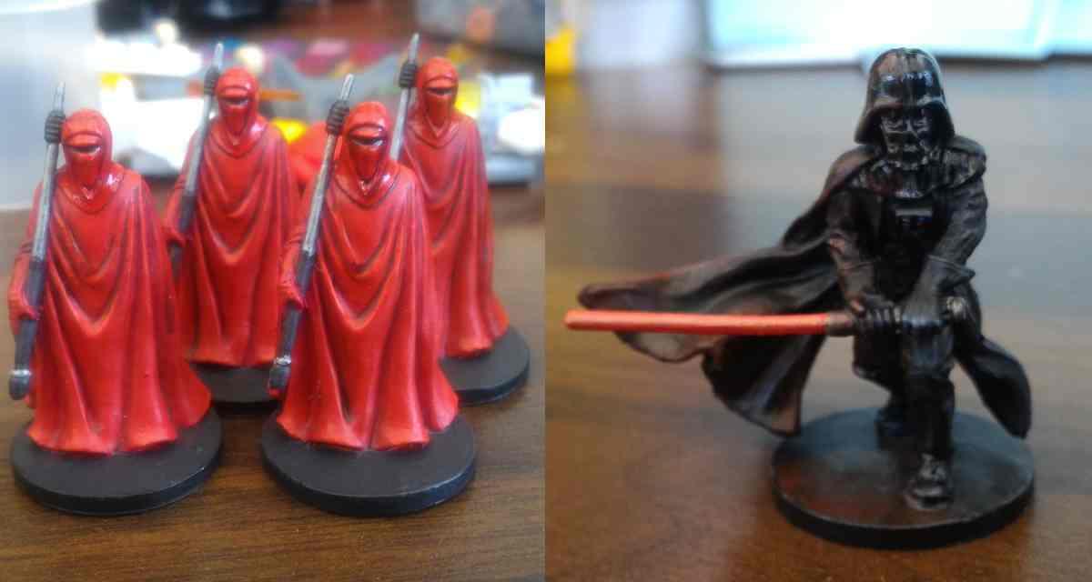 Vader and the Royal Guard