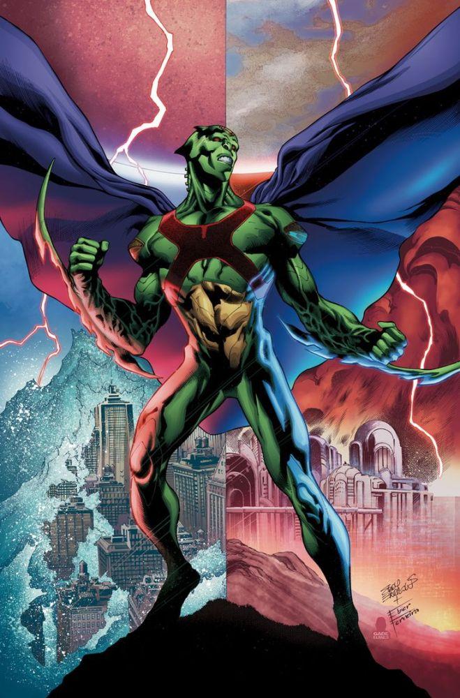 Martian Manhunter #12 cover, image via DC Comics