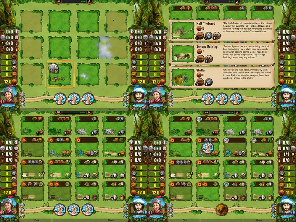 Agricola-Screens