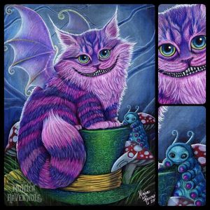 BITTENS Cheshire Cat Image Use with permission