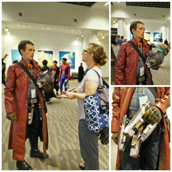 Guardians of the Galaxy cosplay: Henry Taylor as Star Lord.