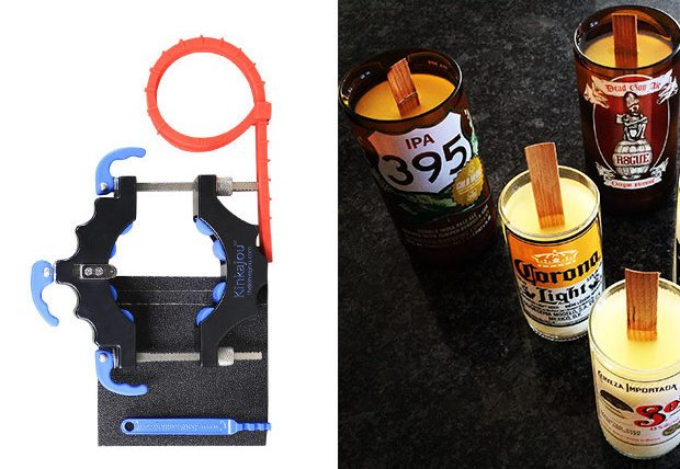 Kinkajou Bottle Cutting & Candle Making Kits1