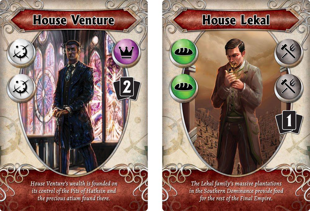 Mistborn House cards
