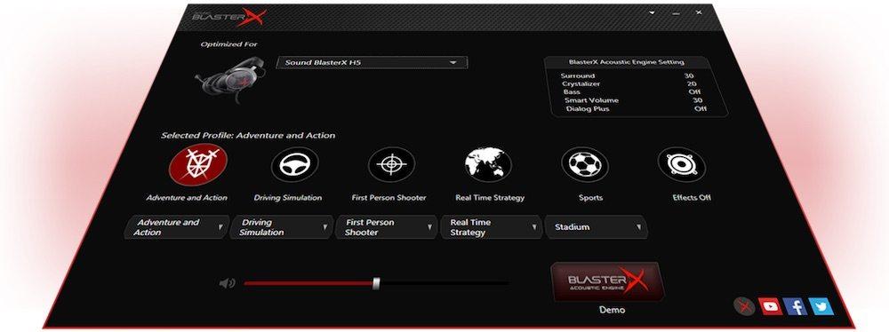 SoundBlaster Acoustic Engine
