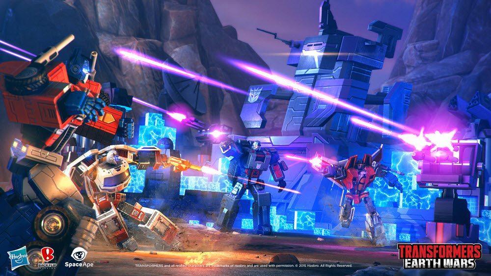 Transformers: Earth Wars cutscene