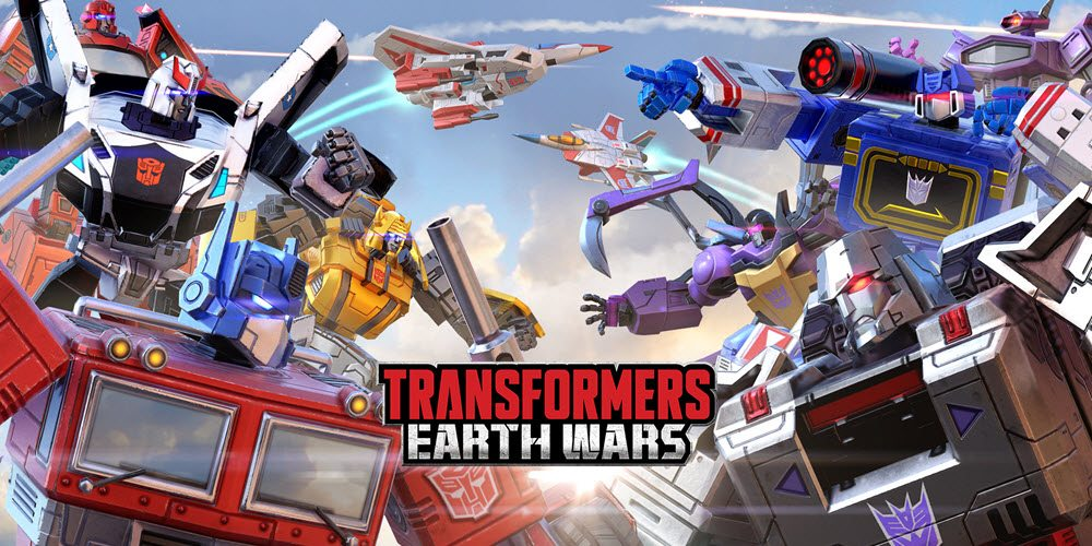 Transformers: Earth Wars Title Sceen