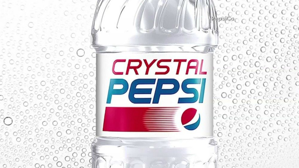 Crystal Pepsi makes its return to store shelves