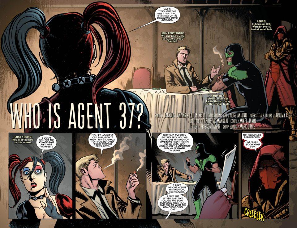 Grayson Annual #3, image copyright DC Comics