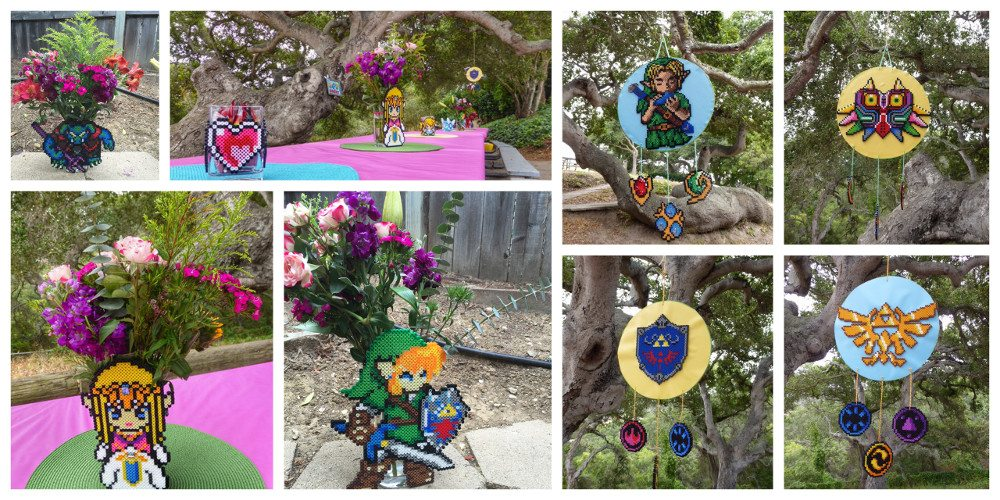 Zelda party decor. Image credit: Ariane Coffin.