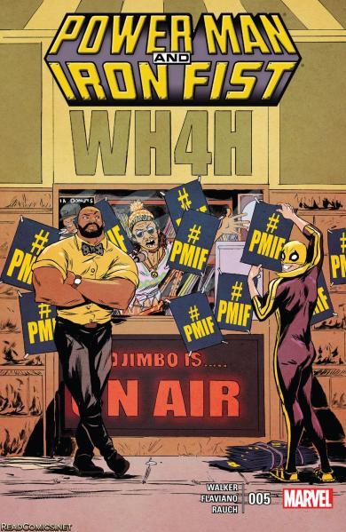 c. Marvel Comics 2016 Writer: David Walker Artist: Flaviano Cover Artist: Sandford Greene