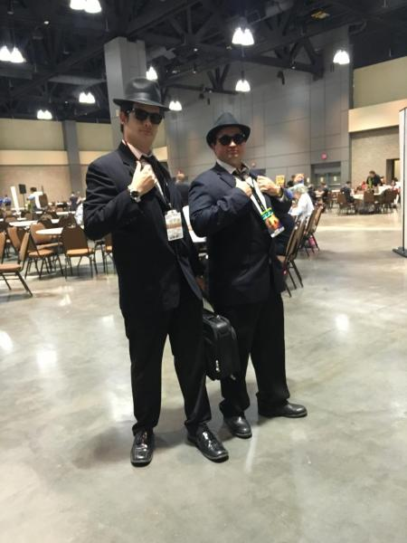 The Blues Brothers weren't in the death match. I bet they could've taken down Vader. photo by Corrina Lawson