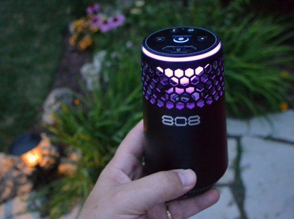 808 Hex Light LED speaker