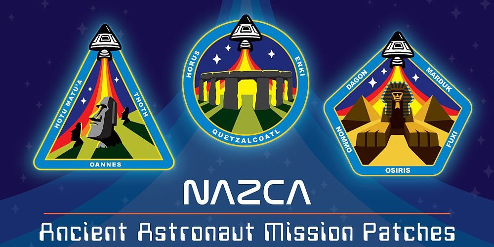 Ancient Astronaut Mission Patches, Image: George Coghill
