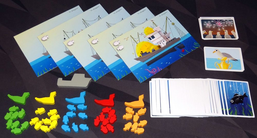 Fish Frenzy components