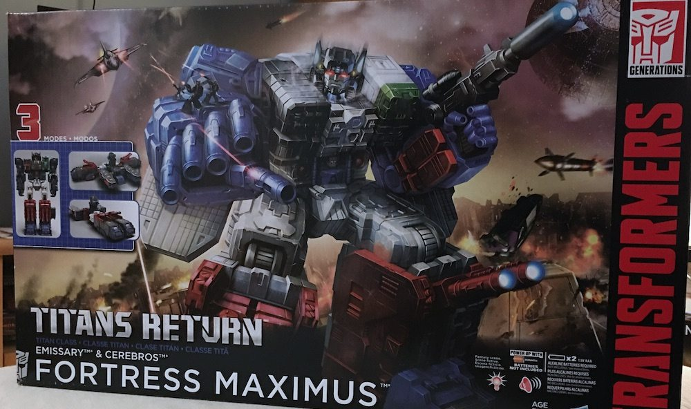 Fortress Maximus Box