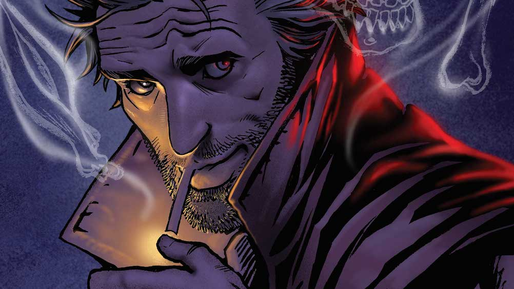 The Hellblazer: Rebirth #1 cover, image via DC Comics