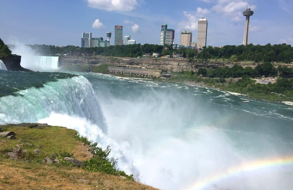 Getting close to Niagara Falls